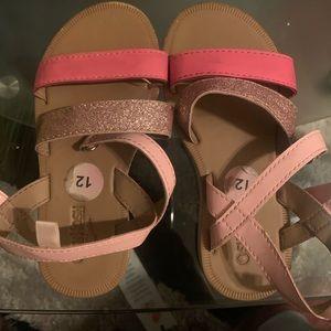 Used Oshkosh sandals for little girls